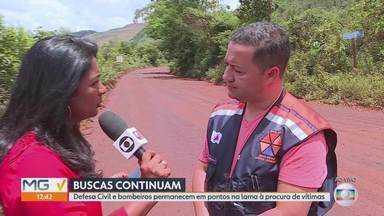 Sobe para 166 o número de mortes confirmadas na tragédia de Brumadinho - Seis ainda não foram identificados. Outras 155 pessoas estão desaparecidas.