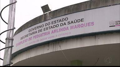 Hospital Infantil de João Pessoa é fiscalizado pelo Conselho Regional de Medicina - O CRM recebeu denúncia de superlotação.