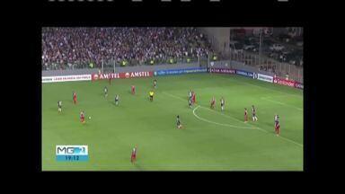 Apesar de sufoco, Atlético vence e avança na Libertadores - Equipe derrotou o Danúbio por 3 a 2.