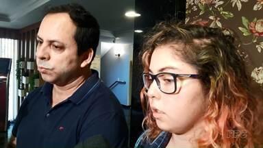 Boa Noite Paraná conversa com mulher que estava em bote que virou em Foz do Iguaçu - Família do Rio Grande do Sul já voltou pra casa