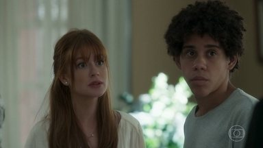 Luz questiona presença de Feijão na casa de Valentina - Olavo ataca Feijão, que é defendido por Valentina