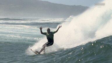 Swell De Foil No Havaí