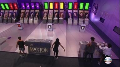 Prova do Líder Senha: Maycon e Tereza terminam terceira rodada com mais acertos - Prova do Líder Senha: Maycon e Tereza terminam terceira rodada com mais acertos