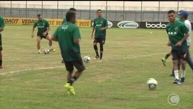 Altos se prepara para enfrentar o Confiança e busca primeira vitória na Copa do Nordeste - Altos se prepara para enfrentar o Confiança e busca primeira vitória na Copa do Nordeste