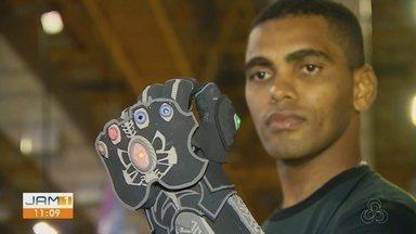Amazonenses mostram que inovação também vem da criatividade artesanal - Veja cobertura da Campus Party