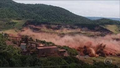 Agência Nacional de Mineração manda desativar barragens como a de Brumadinho - ANM diz que há controvérsias sobre a eficiência e a segurança de barragens de alteamento a montante. Em Brumadinho, chegou a 166 o número de corpos retirados da lama.