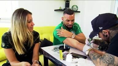 Weverton fala sobre briga por posição no Palmeiras e eterniza título brasileiro de 2018 no braço - Weverton fala sobre briga por posição no Palmeiras e eterniza título brasileiro de 2018 no braço