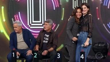 Totia e Camila acertam e Whadi Gama vai ao palco - Dupla acerta hit 'Piscininha Amor'