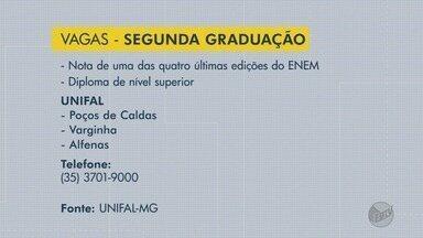 Unifal abre vagas para segunda graduação - Unifal abre vagas para segunda graduação
