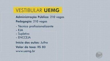 Uemg tem vagas abertas para dois cursos à distância - Uemg tem vagas abertas para dois cursos à distância