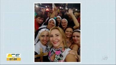 Reveja as fotos das campanhas Minhas Férias e Meu Carnaval desta quarta-feira (20) - O Bom Dia Ceará quer saber como você está curtindo seus dias de folga e de folia.