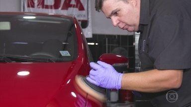 Em época de sol forte, veja como proteger a pintura do carro - Fim de verão à vista. Mostramos como dar um trato para proteger a carroceria no resto do ano.