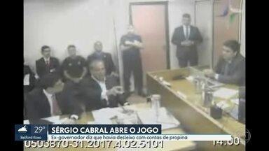 Sérgio Cabral diz que havia desleixo com contabilidade das propinas - Ex-governador não é considerado delator pela Justiça e sim réu confesso.