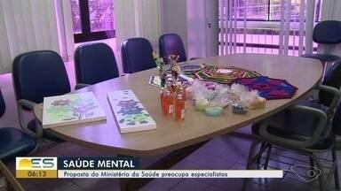 Proposta do Ministério da Saúde no tratamento da saúde mental preocupa especialistas no ES - Um dos pontos é a volta de tratamentos com eletrochoque.