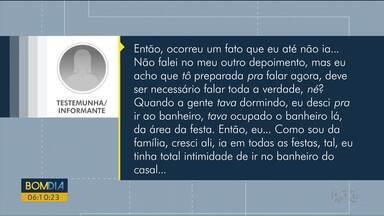 RPC tem acesso a depoimento de adolescente no Caso Daniel - A menina foi ouvida em Foz do Iguaçu e conta que o jogador Daniel entrou no quarto da família Brittes enquanto ela estava no banheiro.