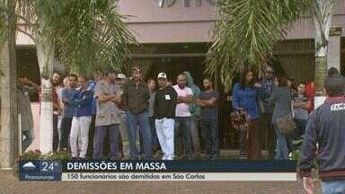150 funcionários são demitidos da Tecumseh em São Carlos - Segundo o Sindicato dos Metalúrgicos, no fim do ano passado foram dispensados 90 empregados na mesma empresa.