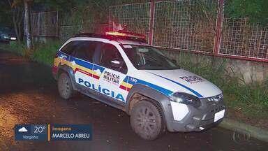 Motorista de aplicativo é baleado durante assalto em BH - Vítima, de 21 anos, ficou ferida no bairro Salgado Filho e foi resgatada por policiais militares; bandidos levaram carro e abandonaram veículo em uma rua próxima onde ocorreu o crime.