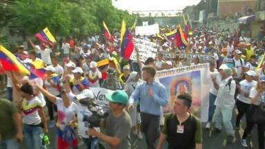 O agravamento da crise venezuelana