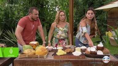 Nutricionista fala dos benefícios do coco para a saúde - Fruta melhora o metabolismo, gera saciedade e ajuda na saúde da tireoide