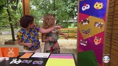 Blogueira ensina a fazer máscara infantil de Carnaval - Moldes de diversos bichinhos encantam a garotada. Aprenda!