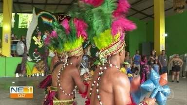 Olinda recebe encontro de cavalos-marinhos e apresentações de caboclinhos - Festa acontece na Casa da Rabeca, na Cidade Tabajara.