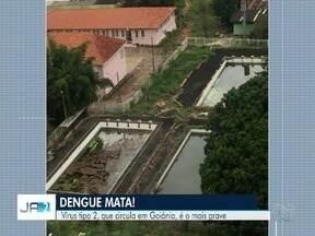 Moradores denunciam locais com água parada em Goiânia - Eles temem que criadouros de mosquito da dengue facilitem proliferação da doença.