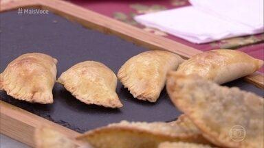 Pastéis de Forno ou Fritos - Ana Maria ensina o passo a passo do salgado