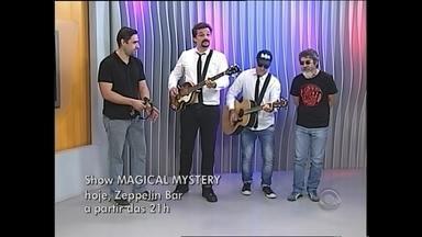 Banda Magical Mystery é a única de fora da Europa a participar de homenagem aos Beatles - A única banda de fora da Europa que vai participar de um festival em homenagem aos Beatles, em Moscou, na Rússia!
