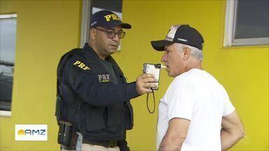 Operação carnaval da Polícia Rodoviária Federal - Segundo o balanço houve redução de 35% nos acidentes no estado