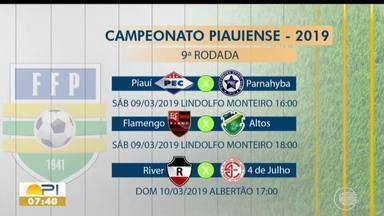 Nona rodada do Campeonato Piauiense acontece neste final de semana - Nona rodada do Campeonato Piauiense acontece neste final de semana