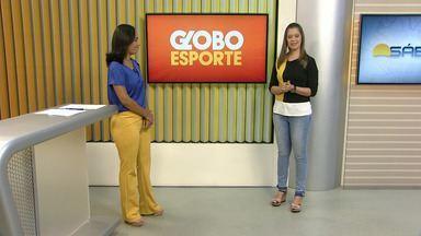 Tâmara Oliveira apresenta as notícias do esporte - Tâmara Oliveira apresenta as notícias do esporte.