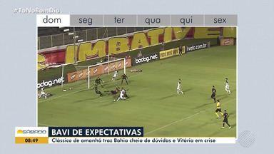 Bahia e Vitória se enfrentam em mais um clássico no Baianão - Vejas os preparativos dos dois times.