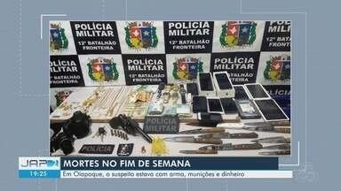 Mortes são registradas em Macapá e Oiapoque - Intervenção policial e execução ocasionaram casos
