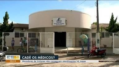 Pacientes de Linhares não conseguem atendimento em hospital - Pacientes de Linhares não conseguem atendimento em hospital