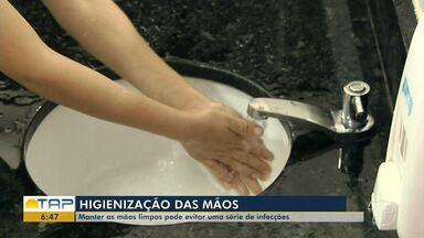 Higienização das mãos: Manter as mãos limpas evita infecções - Veja como é importante manter esse hábito. Médica alerta que é importante ensinar as crianças a manter as mãos sempre limpas.