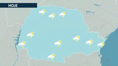 Deve chover nesta quinta-feira em todo o esto - Previsão é de mais de 25mm de chuva.