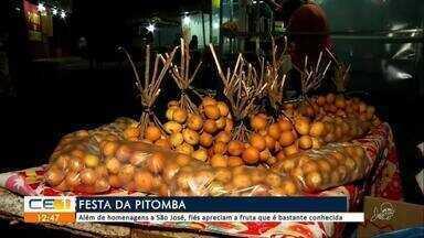 Festa da pitomba vira tradição no Crato - Outras informções no g1.com.br/ce