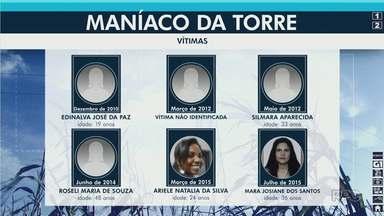 Amiga de vítima do Maníaco da Torre fala sobre julgamento - Roneys Fon Firmino Gomes é acusado de matar seis mulheres em Maringá