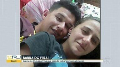 Exame de DNA confirma que ossada é de menina - Segundo o resultado do teste, o corpo era de Julia Laport, de dez anos. A mãe e o padrasto da menina estão na cadeia.