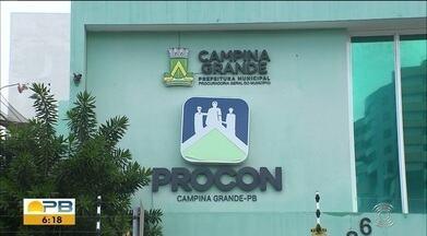Procon de Campina Grande recebe mais de mil e quinhentas reclamações de consumidores - Os consumidores estão buscando cada vez mais os seus direitos.