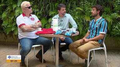 Assista ao quadro Te Pago Um Café desta sexta-feira (15) - Confira a entrevista com convidados ilustres.