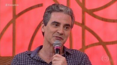 Marcelo Laham interpreta prefeito Tavares na novela das seis - Ator diz que trabalho que seu personagem tem com a esposa é maior do que com a prefeitura de Rosa Branca em 'Espelho da Vida'