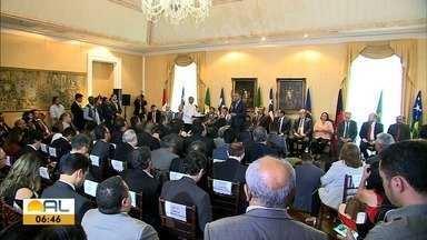 Governadores do Nordeste criam no Maranhão um consórcio entre os 9 estados - Acordo busca garantir cooperação econômica e logística entre os estados da região.