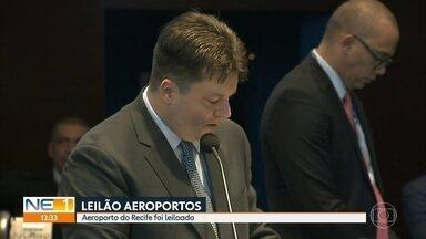 Aeroporto do Recife é leiloado nesta sexta-feira (15) - Empresa vencedora é espanhola e vai pagar R$ 1,9 bilhão à União por lote de seis aeroportos do Nordeste.