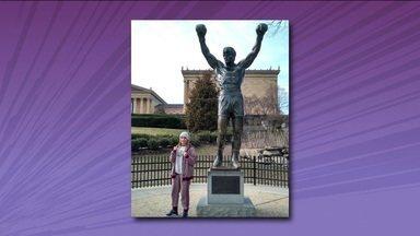 Campeã Mundial de Boxe entra na onda de Rocky Balboa e vai em busca do cinturão - Campeã Mundial de Boxe entra na onda de Rocky Balboa e vai em busca do cinturão