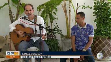 Confira as opções de lazer para este fim de semana em Petrolina - A banda Musaikón se apresenta nesta sexta (15) na cidade.