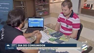 No dia do consumidor, superintendente do Procon em MS responde dúvidas - Hoje tem atendimento de graça em shoppings de Campo Grande.