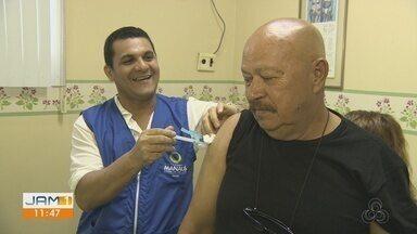 Amazonas deve receber 1 milhão de vacinas contra o vírus H1N1, diz Governo - Calendário de vacinação será divulgado em breve. Estado vive surto de Influenza A.