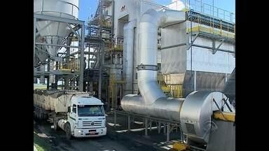 Usina da região central produz energia a partir da casa de arroz - Usina recebeu autorização da Aneel para começar a operação. Com isso, resíduos que seriam jogados fora são reaproveitados para gerar energia