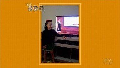 Telespectadores enviam fotos para o BDG - Imagens são mostradas ao vivo.